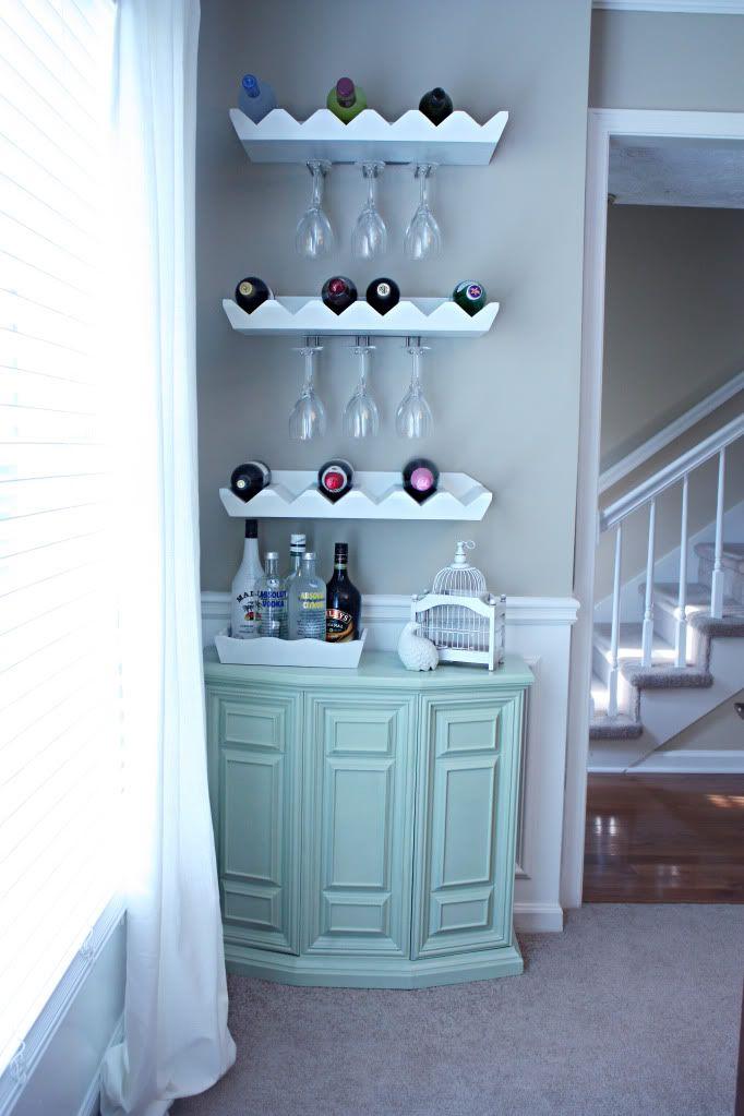 Bar area/wine storage DIY