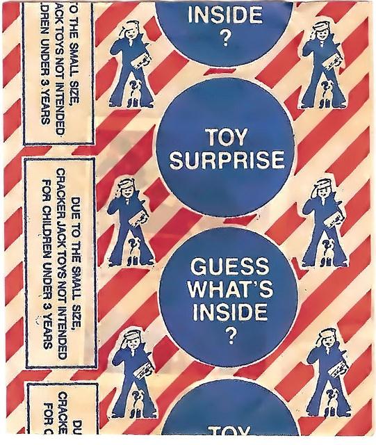 """""""Find the Surprise!"""" (Cracker Jack image by f2point8, via Flickr) lisadelay.com"""