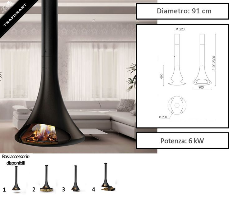 55 best traforart design camini di design a legna design fireplaces images on pinterest - Camino da interno ...
