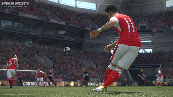 Pes 2017 | Arsenal vs Liverpool | Full Match Gameplay | 2-0 | PC | HD 30 FPS