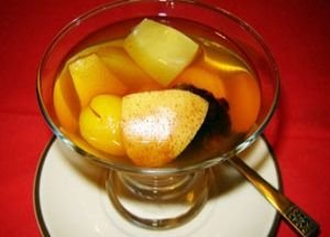 Компот из яблок и абрикосов / Компоты / TVCook: пошаговые рецепты с фото