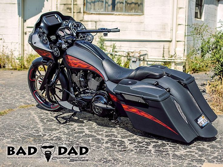 Bad Dad | Custom Bagger Parts for Your Bagger | Baggers :: Brad's Road Glide #harleydavidsoncustommotorcyclesdreams