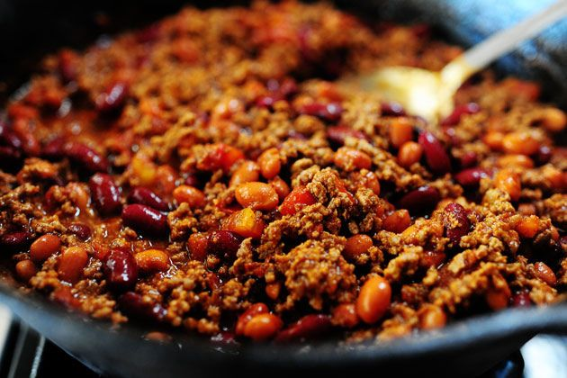 Chilli con carne (without the fritos!)