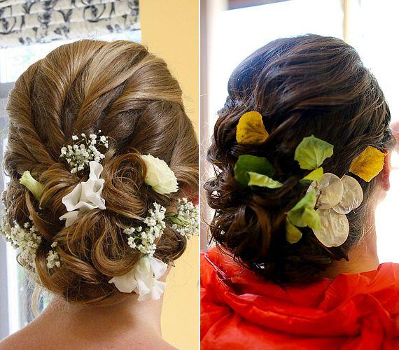 Bájos, romantikus frizurák tavaszi esküvőre | retikul.hu