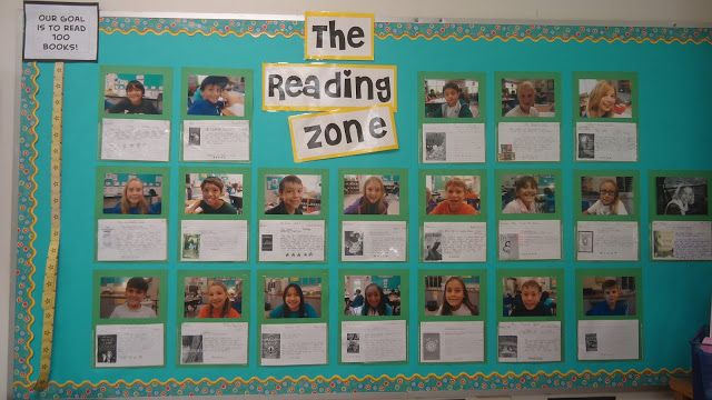What are you reading? bulletin board: add page protectors for displaying a Reading Response card.