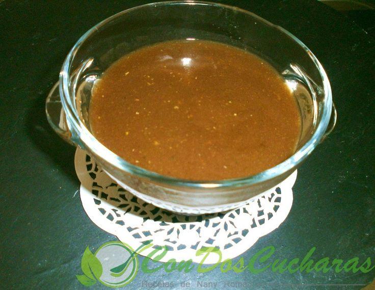 ConDosCucharas.com Salsa gravy para carne - ConDosCucharas.com