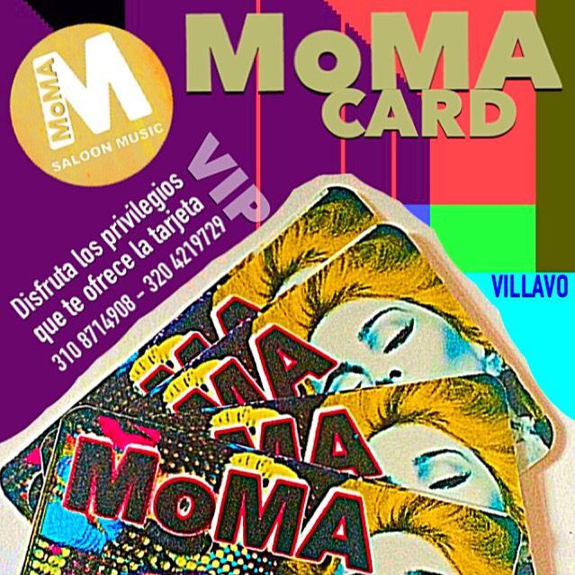 Aun es tiempo de obtener tu MoMA CARD y gozar de los privilegios y preferencias que solo #MomaBar te ofrece!. No olvides retirar tu tarjeta si ya la tramitaste.