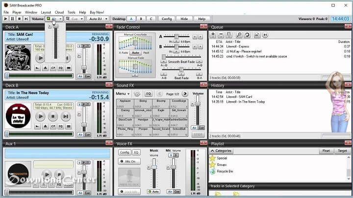 free download sam broadcaster radio automation software