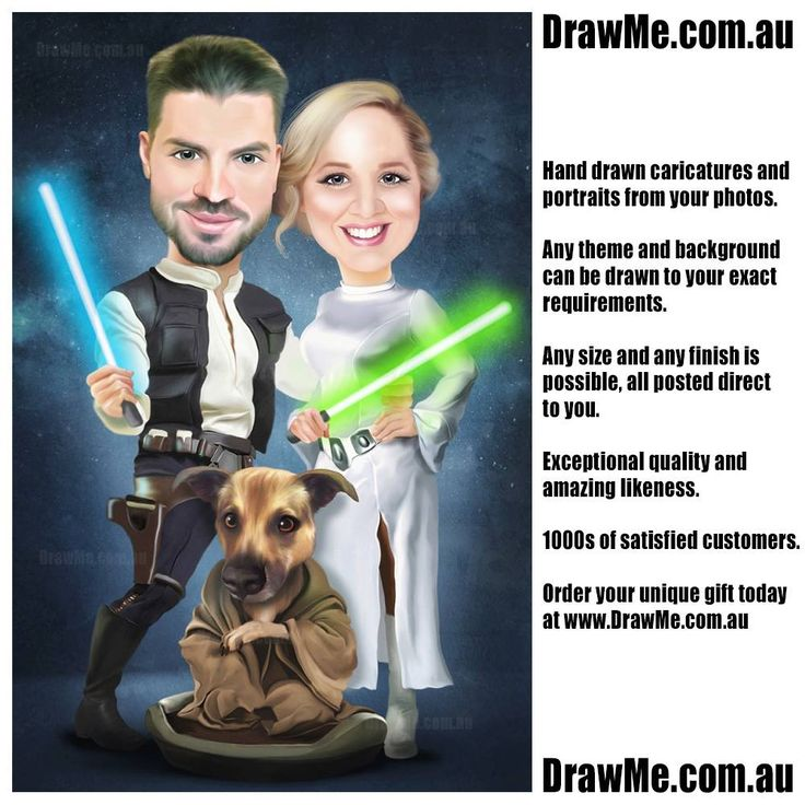 #wedding caricatures hand drawn from your photos www.DrawMe.com.au