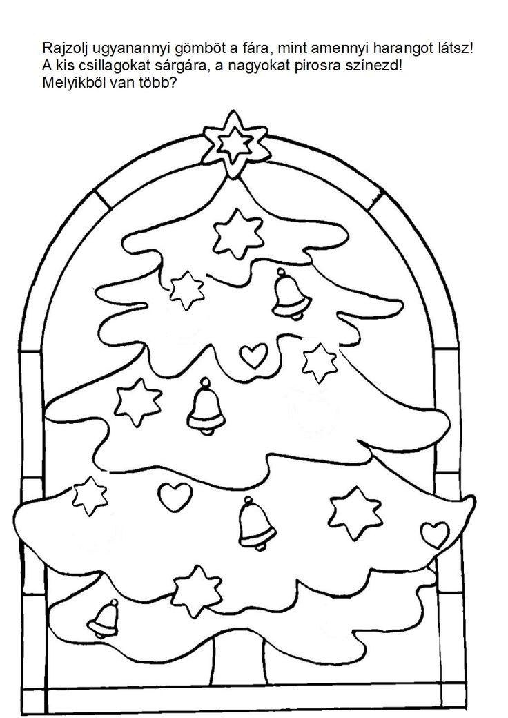 karácsonyi feladatlapok