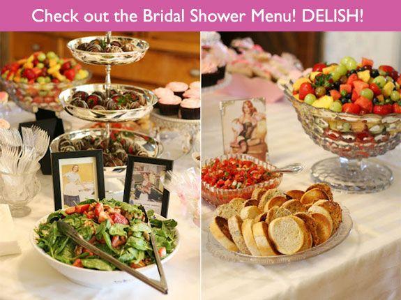 Famous Bridal Shower Brunch Menu