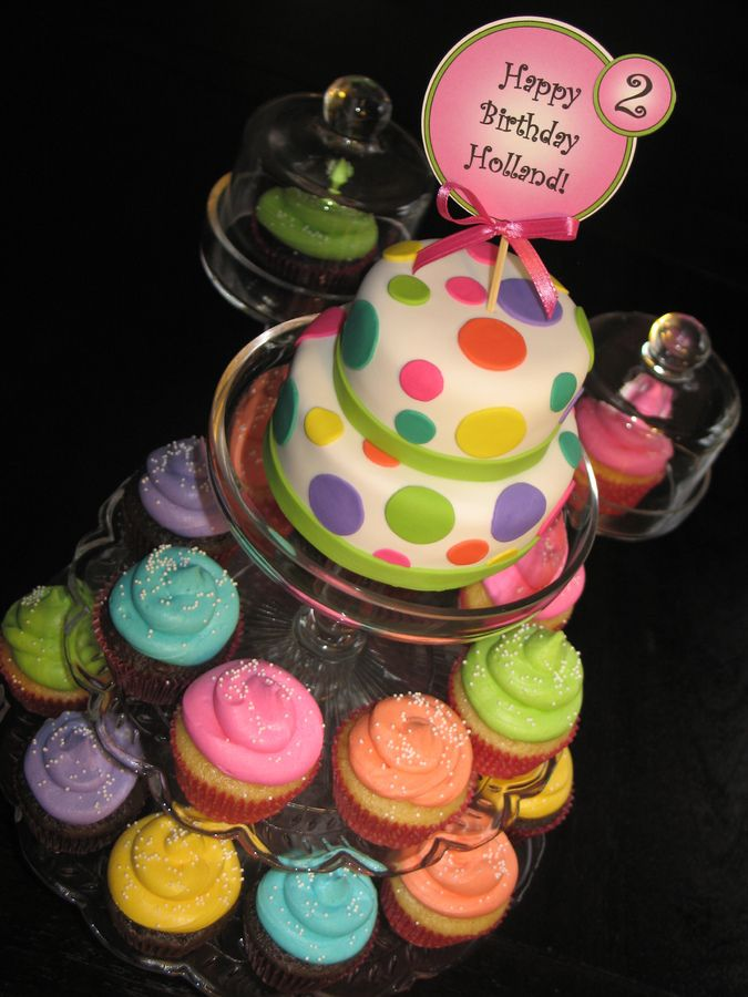 This Mini Cake Was Created For A Little Girls 2nd Birthday The  more at Recipins.com