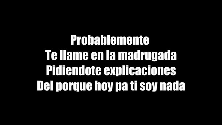 (LETRA) Probablemente - Christian Nodal Ft. David Bisbal SUSCRIBETE AL CANAL DE JAVIER AHÍ ESTARAN LOS MEJORES ESTRENOS https://www.youtube.com/channel/UCV0kwWbQBGv0iCDE_AQ-Ruw https://www.youtube.com/channel/UCV0kwWbQBGv0iCDE_AQ-Ruw https://www.youtube.com/channel/UCV0kwWbQBGv0iCDE_AQ-Ruw This Channel Is Dedicated Making Videos Lyrics I hope and like my Channel Your Server Kevin Rivera  -Hello Today I bring you this video I hope and be to your liking  -It says that to grow this channel that…