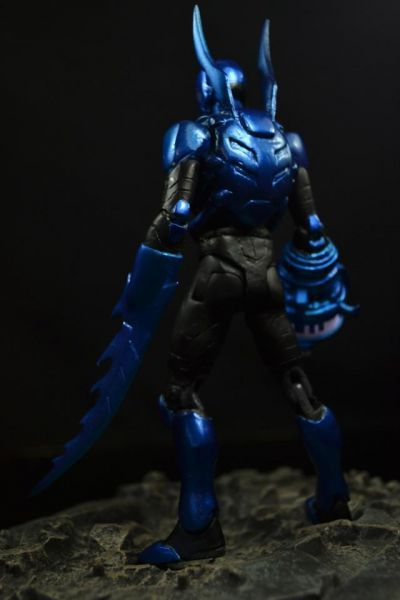 Young Justice Invasion Blue Beetle (Young Justice) Custom Action Figure