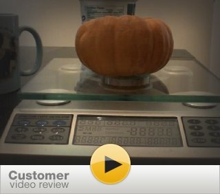 Video Review of the EatSmart Digital Nutrition Pro Scale.