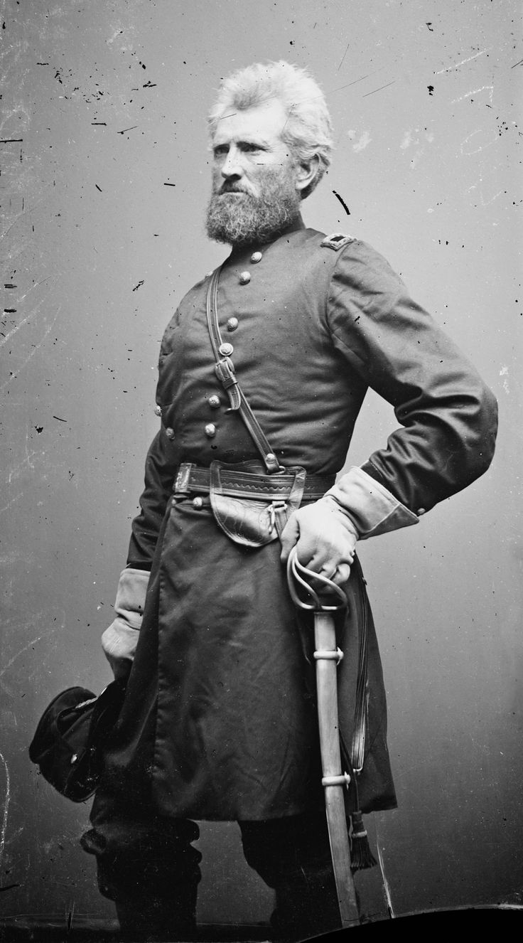 *MAJ.GEN.ROBERT H.MILROY~ recruited a co.for the 9th Indiana Militia +was appointed its capt.soon after Fort Sumter,on Apr 27,1861,he was appointed to the Federal service as col. of the 9th Indiana Infantry+took part in the western VA campaign underMaj. Gen.Geo.B.McClellan+was promoted to brig.gen.on Sept.3, 1861.He commanded the Cheat Mountain Dist.+served as a brig.commander in the Mountain Dept.during Stonewall Jackson'sValleyCampaign of 1862....