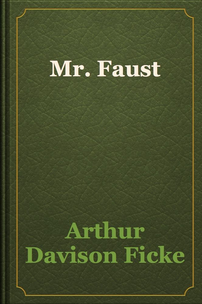 Mr Faust Aff Books Iphone Download Faust Ad George