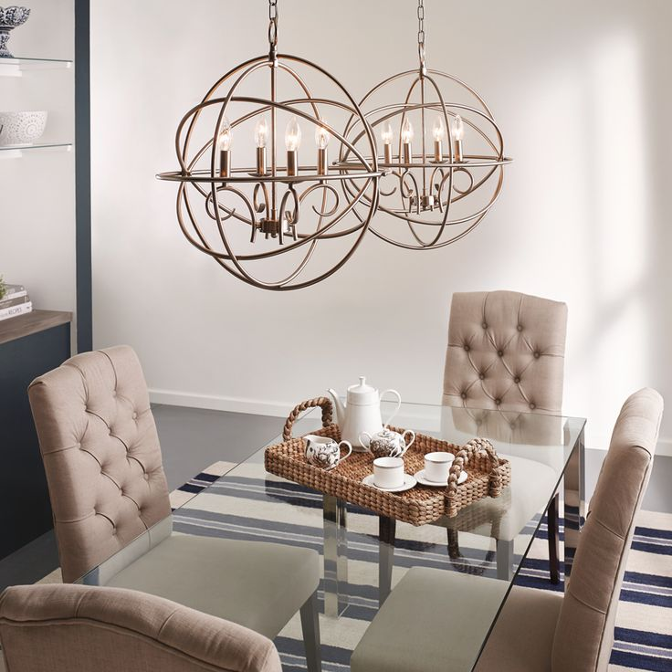 shop kichler lighting 4 light brushed nickel chandelier at lowescom - Kichler Dining Room Lighting