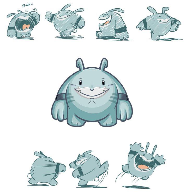 #big #rabbit #character #illustration #digital #painting #concept #umberto #sammartino