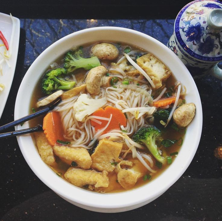 Anyone up for some delicious Pho? #pho #myfavourite #healthyfood #soup #vietnamesefood #eatyourveggies