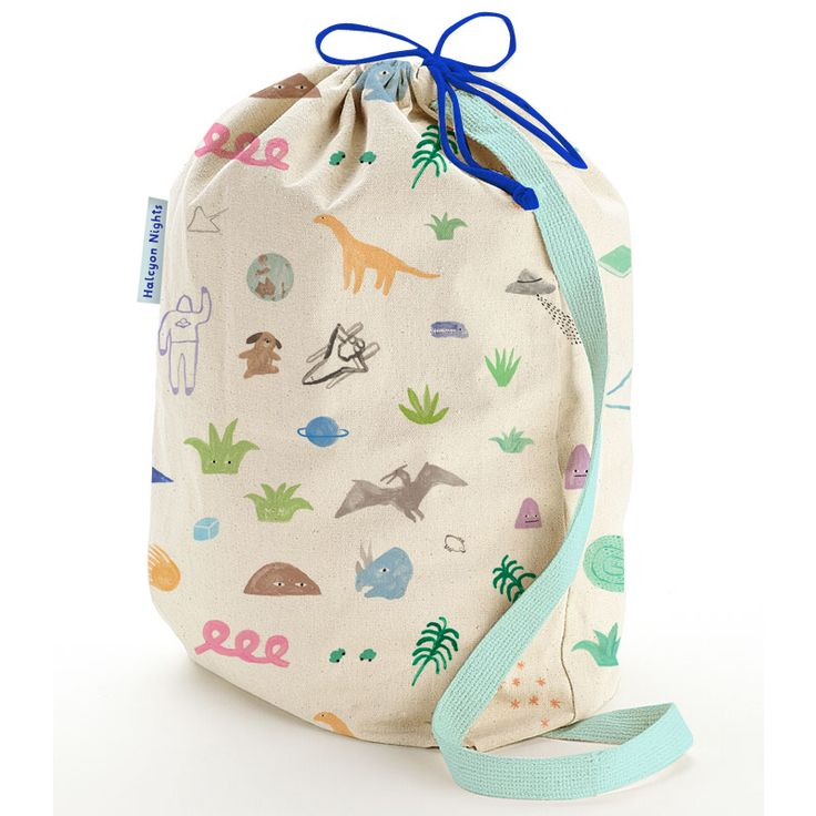 Imaginative Bedding for Kids. Young Explorer print. Each style comes in reusable stuff bags.