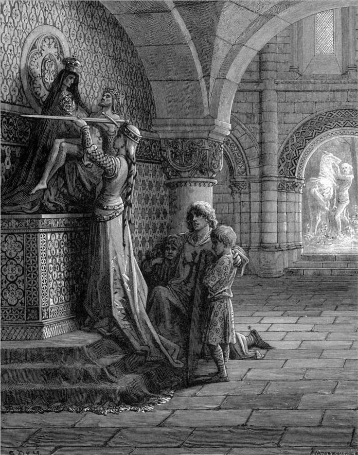 Images from gustave dorés illustrations to the crusades religious artbook