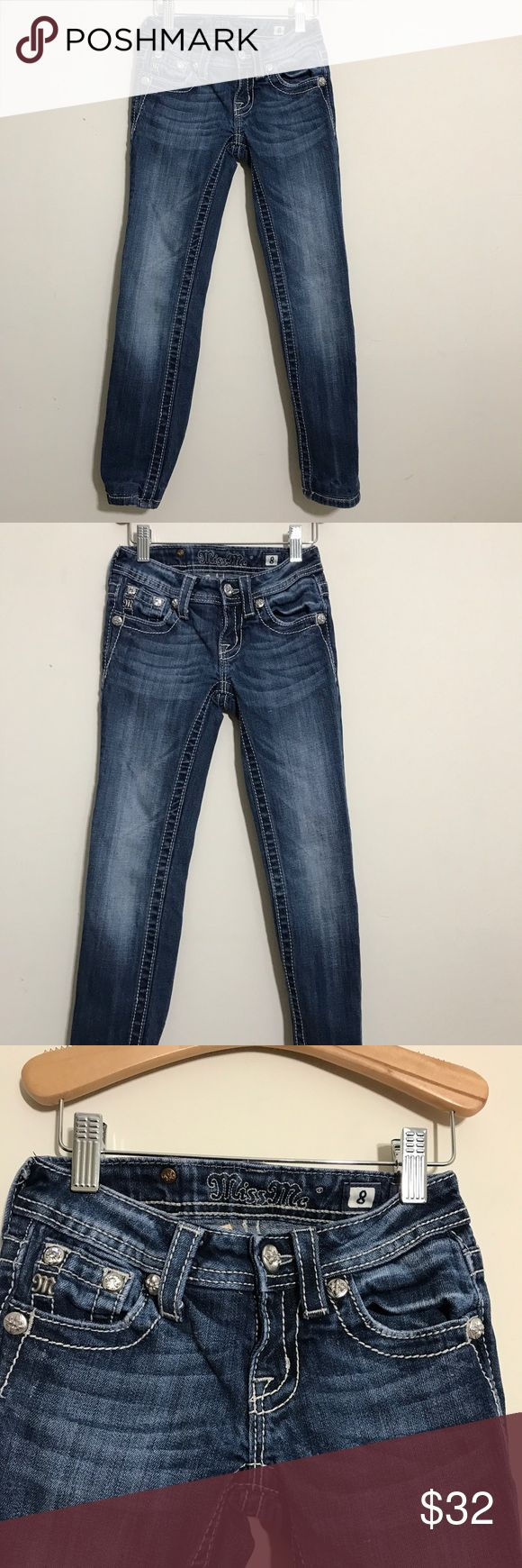 Girls miss me jeans 8 Girls miss me jeans 8 Miss Me Bottoms Jeans