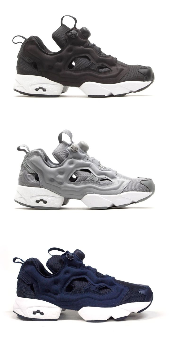 Reebok Insta-Pump Fury OG 'Ballistic Pack' グレー買いました。柔らかい、フィット感抜群。初リーボックですがこの靴は絶対リピートしますね!