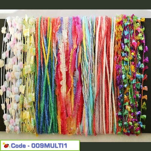 Inspirational Yarn Craft Pack - Muilti Colours 01