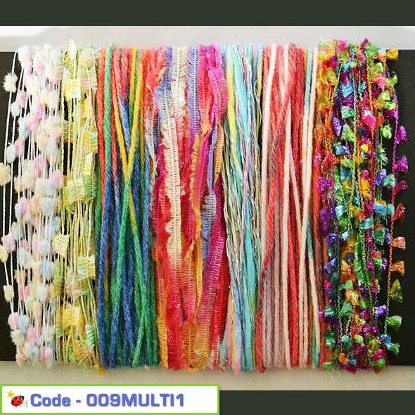 Inspirational Yarn Craft Pack - Muilti Colours 01