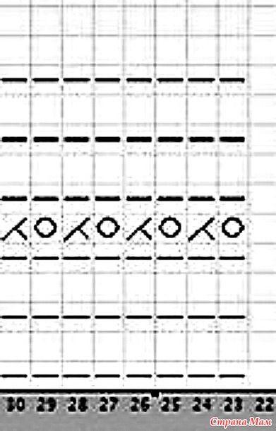 Схема узороа вставок в плечевых швах. Схема узора обвязки подола. http://www.liveinternet.ru/