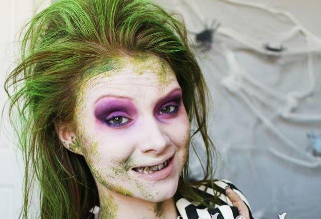 Freddy Krueger, Jason Voorhees, and Beetlejuice Costumes - All Done in Makeup