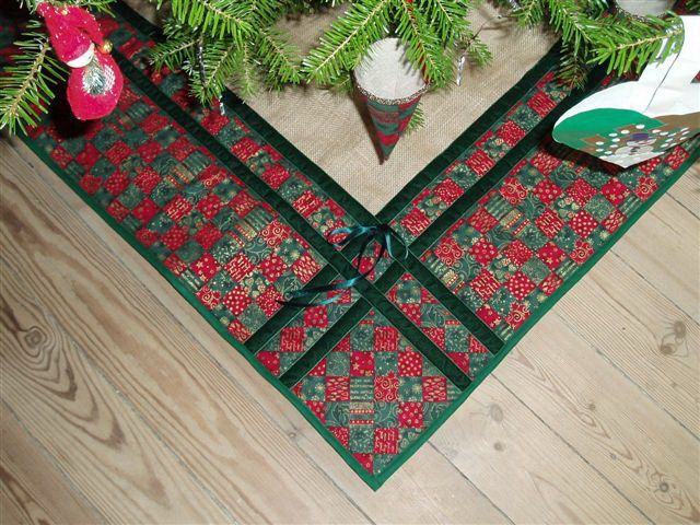 Juletræstæppe fra Kirsten Schaub