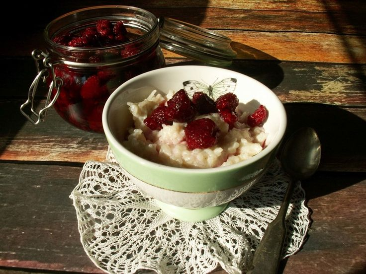 pudding ryżowy / rice pudding