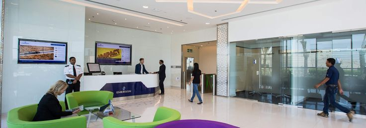 A brighter office for Emerson-A brighter office for Emerson