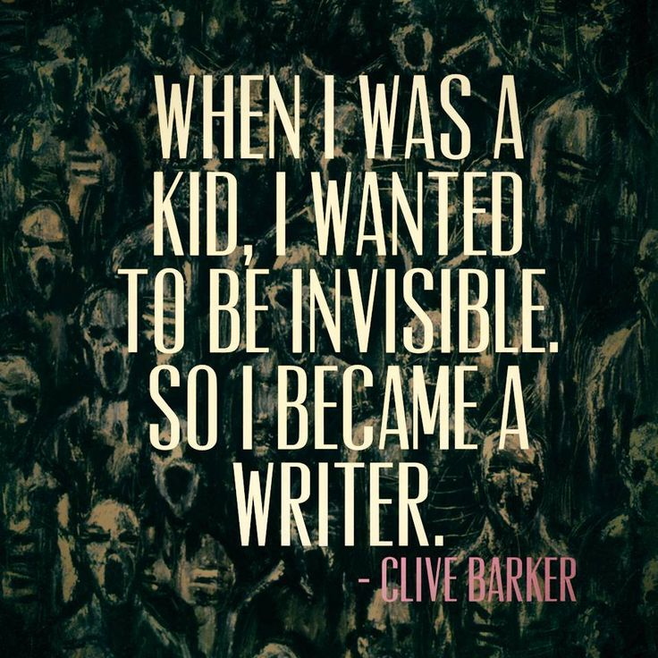 Interesting.  When I was a kid I when for a time actually believing I *was* invisible, and would be quite surprised when people saw me, spoke to me etc.