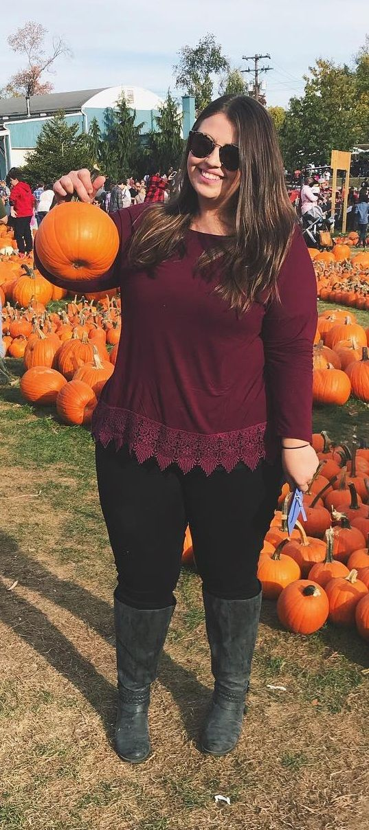 Plus Size Fashion for Women – Plus Size Fall Outfit Idea #Plussize #ootd