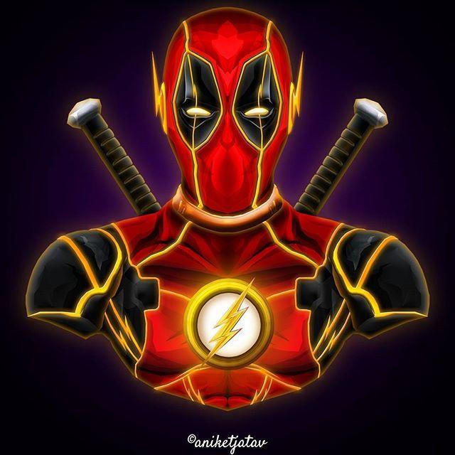11/365 : Deadpool Series Artwork : 11 - Flash-Pool a.k.a Wade Allen ⚡ I got some heavy demands for this dude  Worth it ! . Full brightness preferred. Zoom in for details ☀️ ➖➖➖➖➖➖➖➖➖➖➖➖➖➖➖➖➖ #art #artist #avengersinfinitywar #digitalart #sketch #dc #dceu #captainamerica #ironman #infinitywar #deadpool #spiderman #blackpanther #flash #comics #instagram #instalike #instagood #instafollow #instart #artist #followforfollow #like4like #like #follow #xmen #wolverine #punisher #deadpool2 #marv...
