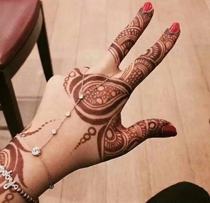 #Brilliant #Mehndi / #Heena design via @sunjayjk ~