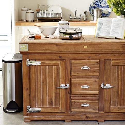 berthillon french kitchen island williams sonoma for. Black Bedroom Furniture Sets. Home Design Ideas