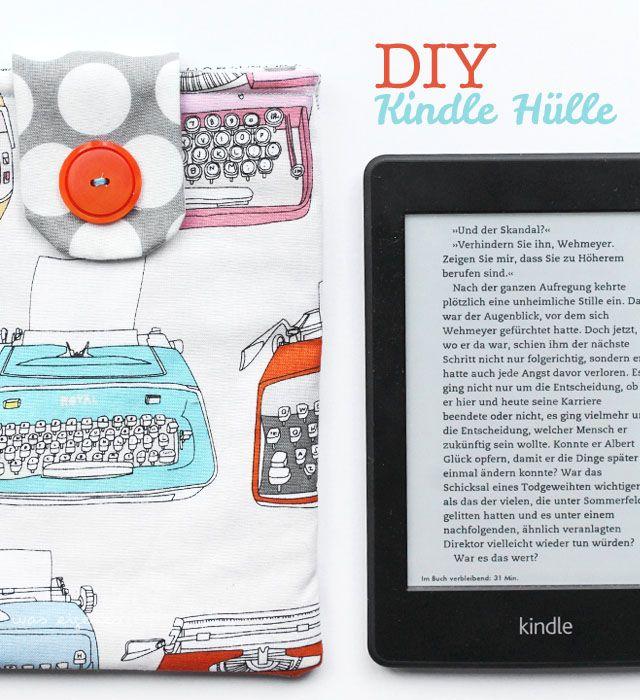 DIY Kindle Hülle / was eigenes Blog / Nähanleitung