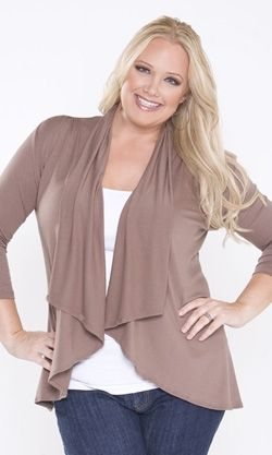 Plus Size Clothing for women like me, it shows your curves... so cute!!
