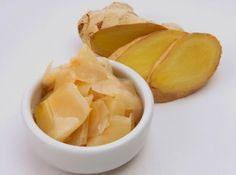 conserva de gengibre - para artrite, colesterol e reduzir medidas