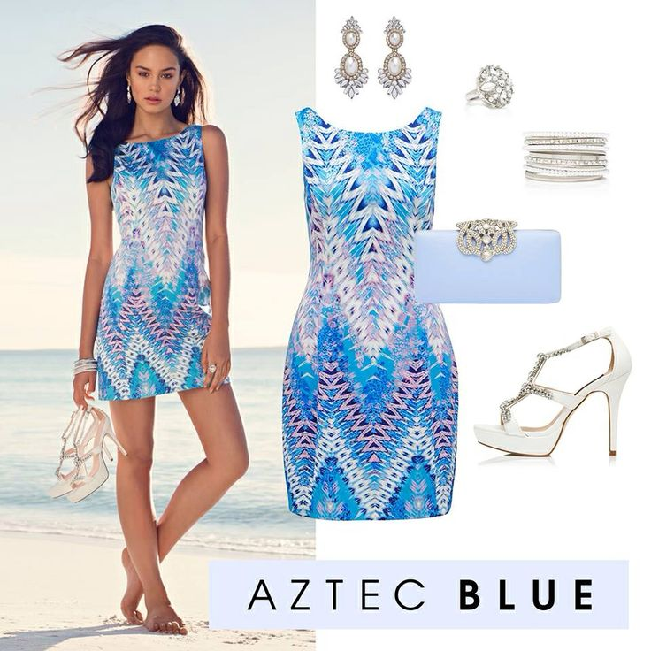 Gorgeous Aztec print shift dress  www.forevernew.com.au
