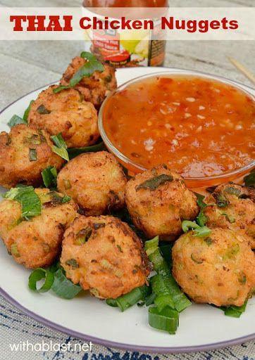 Thai Chicken Nuggets Recipe on Yummly