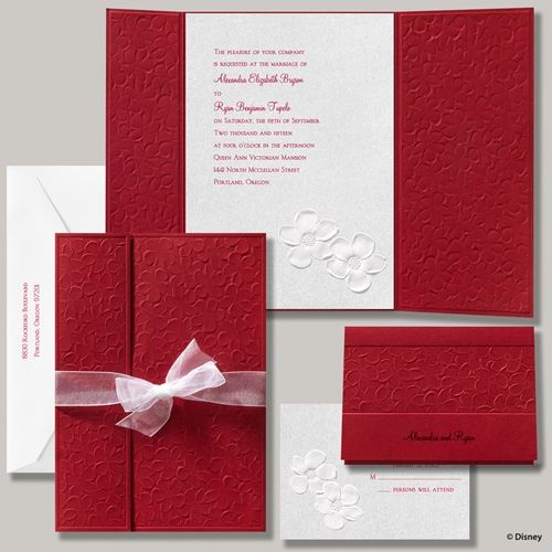 Best 25 Red wedding invitations ideas – Red White Wedding Invitations