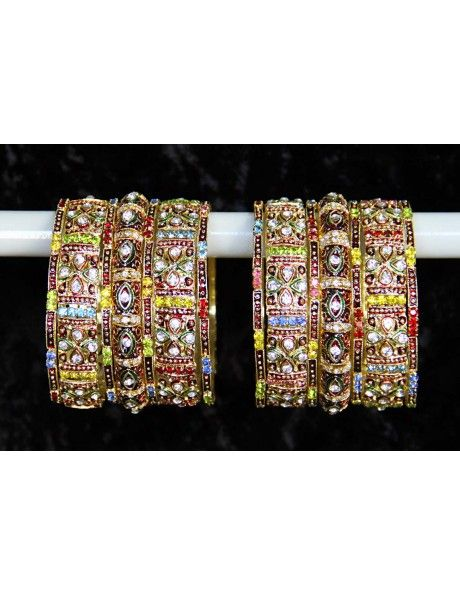 Gorgeous Engagement Bangles Item code : BNG822  http://www.bharatplaza.com/ready-to-ship/jewellery/gorgeous-engagement-bangles-bng822.html https://www.facebook.com/bharatplazaportal https://twitter.com/bharat_plaza