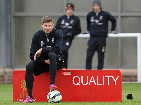 A picture is worth a thousand words! #LFC #Gerrard #quality