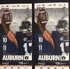 Two Georgia Bulldogs vs Auburn Tigers Football Tickets (UGA Section)