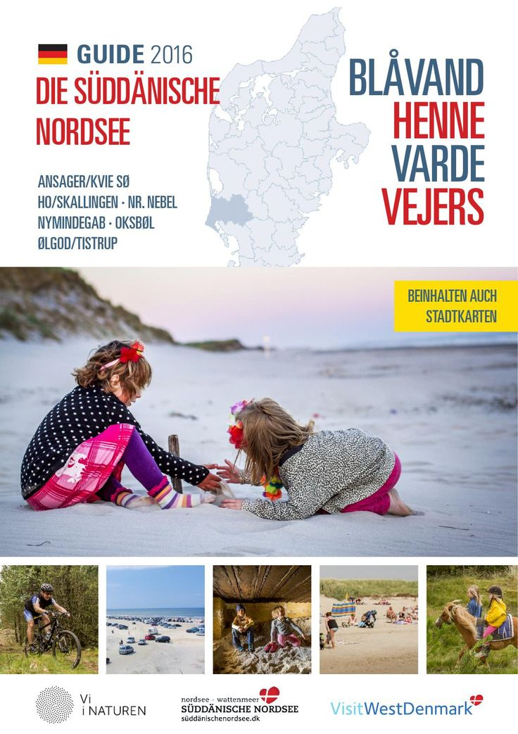 Nordsee Guide 2016 - Deutsch  Blaavand, Henne, Vejers, Nymindegab und Varde.